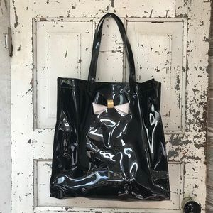 Ted Baker Black Patent Tote